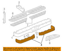 GM OEM-Bumper Trim-Impact Strip Left 15574115