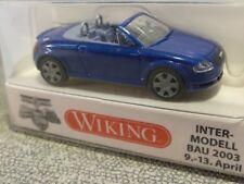 1/87 Wiking AUDI TT ROADSTER BLU METALLIZZATO 131 03 B