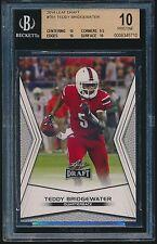 2014 Leaf Draft rookie #TB1 Teddy Bridgewater rc BGS 10 PRISTINE