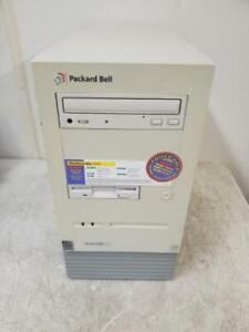 Vintage Packard Bell Multimedia S606 Intel Pentium MMX 233MHz 31744K MB Computer