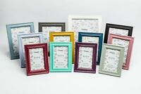 Paloma Shabby Chic Standard Photo Frame Rustic Distressed Wood Picture Display