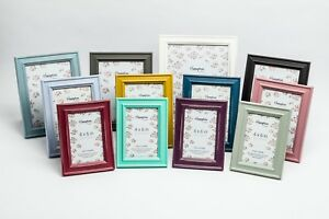 Shabby Chic Standard Photo Frame Rustic Distressed Wood Picture Frame All Sizes