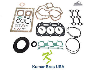 New Full Gasket Set For  Ford New Holland TC25 TC25D TC29 TC29D TC29DA