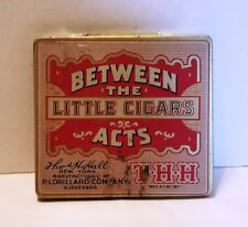 Vintage Between the Little Cigars Acts Tobacco Tin P. Lorillard Company Advertis