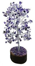 Amethyst Stone Money  Tree Reiki Gemstones Feng Shui Spiritual Vastu Table