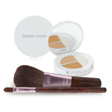 Sheer Cover – Starter Face Kit – Mineral Foundation – Conceal and Brighten Trio