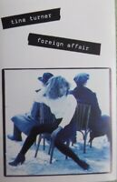 Tina Turner  Foreign Affair  Audio Cassette Tape  Free Postage