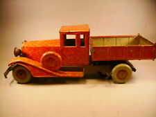 C R camion en tôle Charles Rossignol 1930 1936 pneus MICHELIN ( France )