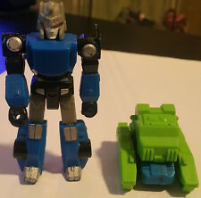 Transformers G1 1991 Action Master Tracks with Basher - Loose - Incomplete