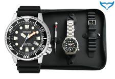 Citizen ProMaster marine reloj pulsera set bn0150-10em Eco-drive caballeros 20bar metal