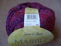 James C Brett Marble chunky Knitting Wool / Yarn 1 X 200g ball MC37