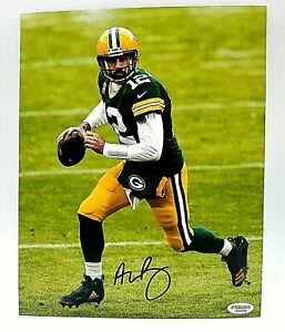 Aaron Rodgers Green Bay Packers Hand Signed Autographed 8x10 NFL Photo With COA