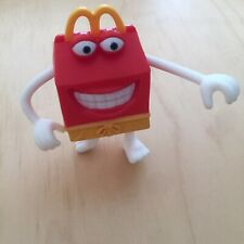 2012 McDonald's Toys Happy Meal Box Cartoon Character With Moveable Arms Legs
