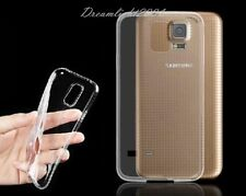 2 Crystal Clear Soft TPU Silicone Case Cover Skin for Samsung Galaxy S5 I9600