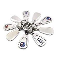 Car Keychain Ring Keyfob Metal Keyrings Car Logos Fashion New Titanium Key Chain