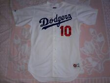 AZL DODGERS RAWLINGS GAME USED WORN JERSEY #10 ESPINOZA LOS ANGELES MINOR TEAM