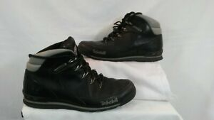 Timberland Men's Black Leather Boots. Size 8. Used. Clean and Tidy Throughout.