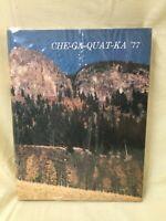Whitesboro Che-Ga-Quat-Ka New York Senior High School 1977 Yearbook