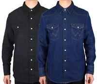 Wrangler Men's Classic Western Denim Shirts