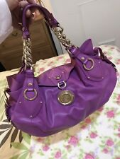 Authentic Versace Leather Shoulder Bag