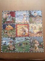 "Springbok Mary Engelbreit Mother Goose 500 Piece Puzzle 20"" x 20"" Complete"