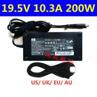 Genuine 19.5V 10.3A 200W Power Supply AC Adapter HP EliteBook 8560w 8570w 8760w