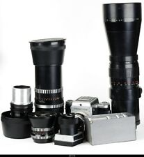 Camera Pentacon Six  With Zeiss Lens 50mm 80mm 300mm 500mm