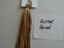 Over-dyed,embroidery floss,Butter Pecan, DMC CONVERSION 3045,  20yards