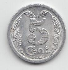 WWI France Monnaie de necessite jeton token - Evreux 1921 - 5 Centimes 18