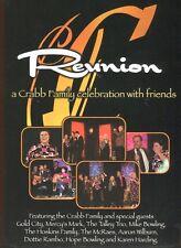Reunion - A Crabb Family Celebration with Friends: Gospel Music (DVD, 2005) MINT