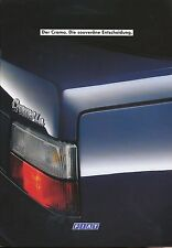 FIAT CROMA PROSPEKT 1/89 brochure 1989 auto PKW opuscolo ITALIA AUTO prospetto