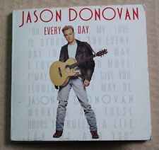 Jason Donovan, everyday (i love you more) / i guess she loved me, mini CD single