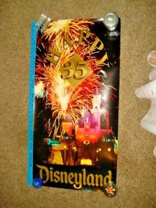 "Disney Collecter Poster - Disneyland 35th Anniversary 36"" x 18"""