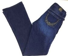 Womens Rock And Republic Kasandra Size 4 Short Dark Jeans B2