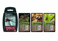 Spiders Top Trumps Card Game New Sealed