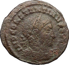 Constantine I The Great 312AD Ancient Roman Coin Nude Sol Sun God i30881