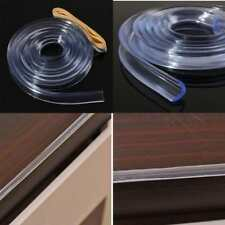 Glass Table Edge Kids Baby Protection Protector Safe Corner Guard Strip Clear LG