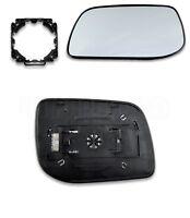 Land Rover Range Rover-II P38 (96-02) Left Side Heated Door Mirror Glass+Adaptor
