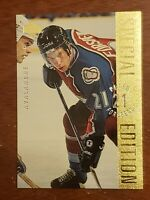 1995-96 PETER FORSBERG - UPPER DECK SPECIAL EDITION GOLD - COLORADO AVALANCHE