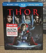 Thor Blu-ray + DVD With Slipcover Genuine