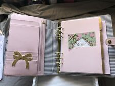kikki k large planner in pink