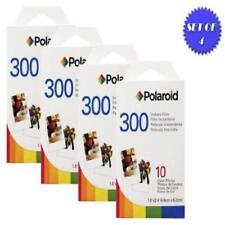 ✈ Polaroid Pif-300 Instant Film For Series Cameras 4 Packs 10 Prints Each