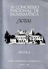 HN Clube Numismatico de Portugal – III CONGRESSO NACIONAL DE NUMISMATICA cb110