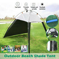 Portable Outdoor Beach Canopy Sun Shade Patchwork Tent Shelter Camping Fishing A