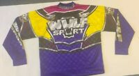 Wulfsport And Max Vintage Race Shirts Size Large Motorbike Motocross MX Leisure