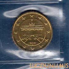 Allemagne 2012 10 centimes D Munich FDC provenant coffret 40000 exemplaires