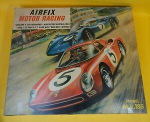 Airfix Motor Racing Track Set M.R.185 Porsche Carrera Ferrari Vintage 1970s SAL