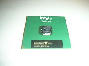 CPU Intel Pentium 3 III SL3XW 667/256/133/1,65v Processor 370 Broches Skt Ok