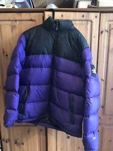 Men's 1996 Retro Nupste Packable Jacket Black Label Large L Purple - SOLD OUT