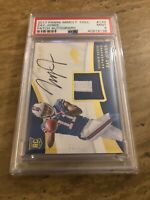 2017 IMMACULATE ZAY JONES  ROOKIE PATCH AUTO AUTOGRAPH RC #54/99 PSA 9